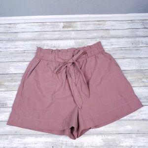 Lush Paperbag Shorts Size Large